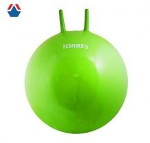 Мяч-попрыгун TORRES AL100465 Зеленый с ручками ПВХ 65см с насосом