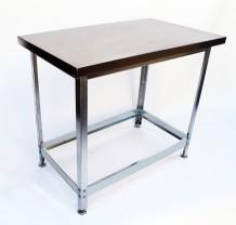 Стол разделочный без борта серия ЭКОНОМ, 600/600/870 мм